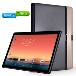 10.1'' Google Tablet PC Android7.0 Quad Core 10 Inch HD WIFI