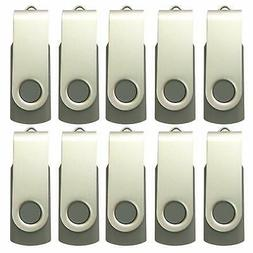 10 X Enfain 8GB USB Flash Drive 2.0 for Promotional, Softwar