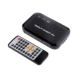 1080P HD 3D TV Media Player YPbPr/RCA/HDMI/AV/VGA for USB Dr