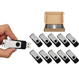 10pcs 8gb 8g usb 2.0 Flash Drive Memory Stick Fold Storage T