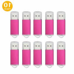 Kootion 10PCS 16GB USB 2.0 Flash Memory Stick U Disk Thumb P