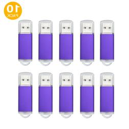 10PCS USB Flash Drive Stick U Disk Pen Drive Storage Memory