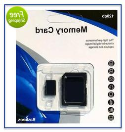 128GB Micro SD SDXC Flash TF Memory Card Class 10 For Androi