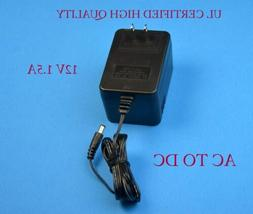 12V 1.5a Ac Power Supply adapter charger for iomega prestige