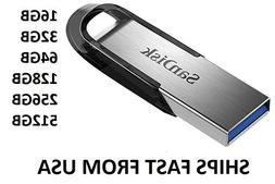 Sandisk Ultra Flair 16GB 32GB 64GB 128GB 256GB 512GB USB 3.0