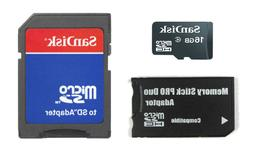 16GB Memory Stick MS Pro Duo Memory Card for Sony PSP and So