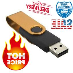 1TB USB Flash Drive Gold Stick Compatible With PC & Mac OS -