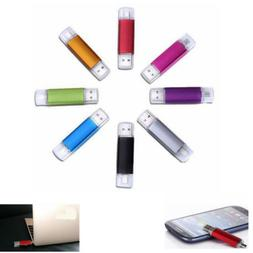 1XOTG Micro USB Flash Drive Memory Stick Card Reader for Pho