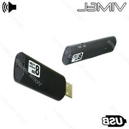 20 hours Voice Recorder USB Flash Drive Listening Device Act