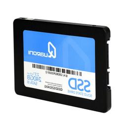 QUARONI 240GB SSD SATA III 3D NAND 2.5in Internal Solid Stat