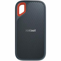 250GB SanDisk Extreme External USB3.1 Portable Solid State D
