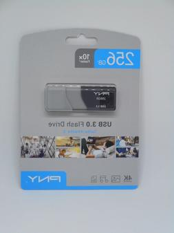 PNY 256GB Turbo Attache 3 USB 3.0 Flash Drive