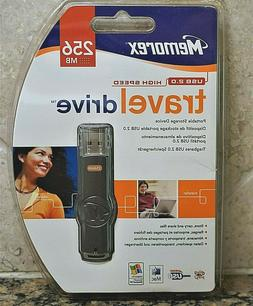 Memorex 256MB Travel Drive USB 2.0 Flash Drive New in Packag