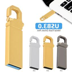 2TB Metal USB 3.0 Flash Drive Memory Stick Pen U Disk Swivel