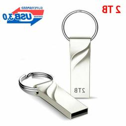 2TB USB 3.0 Memory Stick Flash Drive Metal Pendrive Disk Key