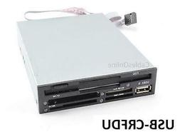 """3.5"""" Internal Multifunction Floppy Disk Drive and Memory Car"""