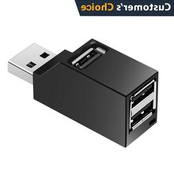 3 Port USB Hub USB 3.0/2.0 High Speed Hub~Splitter Box For P