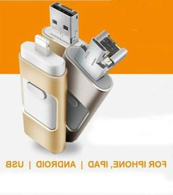 32/16/8GB iFlash Memory USB 3IN1 OTG Disk Drive For iPhone A