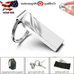 32GB USB 2.0 Flash Drive Memory Stick Pen U Disk Metal Key T