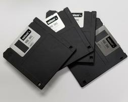"""5 NEW IMATION BRAND 3.5"""" Floppy Disks 1.44MB DS/HD"""