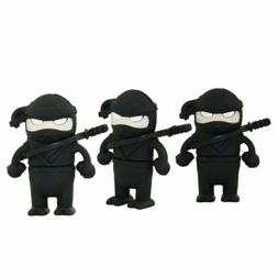4GB USB 2.0 Cool Ninja Samurai Memory Stick Flash Drive Cart