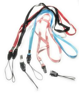 5x Neck Strap Cord Lanyard for Mp3 Cell Phone Camera USB Fla