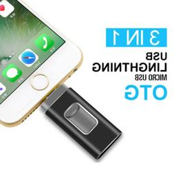 64GB/512GB USB Flash Drive For iPhone iPad Android External