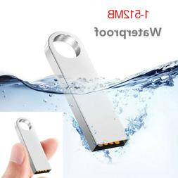 Data Flash Drive 16GB 8GB USB 2.0 Gift Tiny Metal Memory Sti