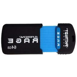 Patriot 64Gb Supersonic Rage Series Usb 3.0 Flash Drive With