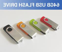 64GB USB 2.0 Flash Drive 3.0 Thumb Memory Stick PC Mac PS4 X