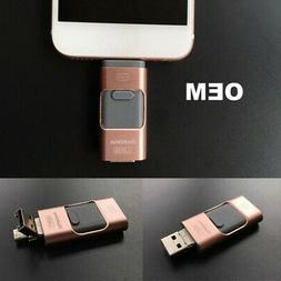 USB Flash Drive 64GB OTG Disk Storage Memory Stick for iPhon