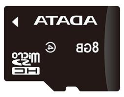 ADATA 8GB microSDHC Class 4 Memory Card with Adapter