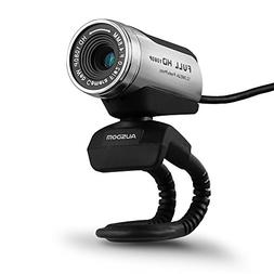 AUSDOM 1080P HD USB Webcam with Built-in Microphone,12.0MP,