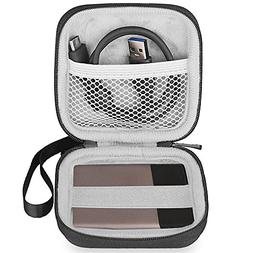 BOVKE Carrying Case for Samsung T3 T5 Portable 250GB 500GB 1