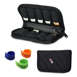 BUBM Black 9 x USB Flash Drives Carrying Case With Handy Qua