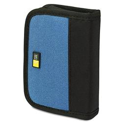 Case Logic JDS-6 USB Drive Shuttle 6-Capacity-Black/Blue