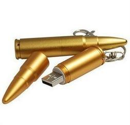 Cool Bullet Special Style 8GB USB Flash Drive with keychain