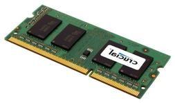 Crucial 4GB Single DDR3 1066 MT/s  CL7 SODIMM 204-Pin Notebo