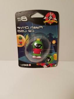 EMTEC Looney Tunes 8 GB USB 2.0 Flash Drive, Marvin the Mart