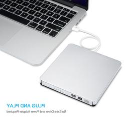 USB CD/DVD-RW Writer Burner External Hard Drive for Apple Ma