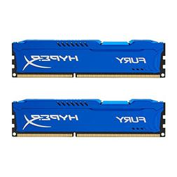Kingston HyperX FURY 16GB Kit  1600MHz DDR3 CL10 DIMM - Blue