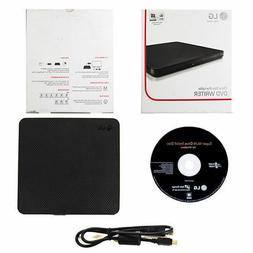 Lg - Ultra Slim 8x Max. Dvd Write Speed External Usb Dvd&plu
