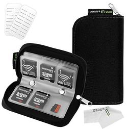 Memory Card Carrying Case - Suitable for SDHC and SD Cards -