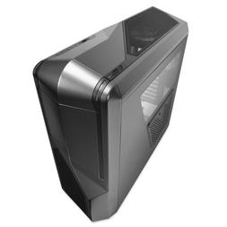NZXT Phantom 410 Mid Tower Computer Case, Gunmetal with Blac