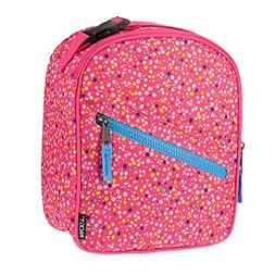 PackIt Freezable Upright Lunch Box, Poppies