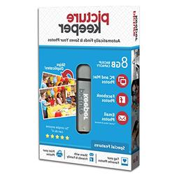 Picture Keeper 8GB Portable Flash USB Photo Backup and Stora