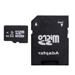 Redcolourful 32gb Micro Sdhc Class 10 Flash Memory Card with