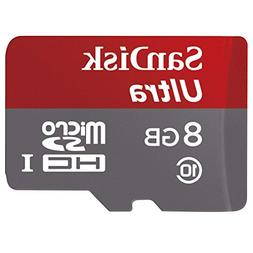 SanDisk Ultra 8GB Class 10 UHS-I MicroSDHC Memory Card with