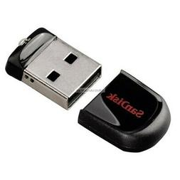 SanDisk 16GB Cruzer Fit USB Flash Drive - 16 GB - Encryption