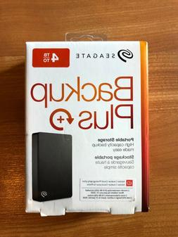 Seagate Backup Plus 4TB Portable External Hard Drive USB 3.0